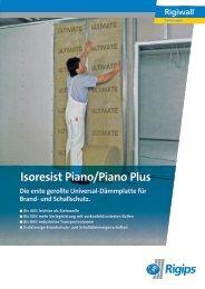 Isoresist Piano/Piano Plus - Rigips