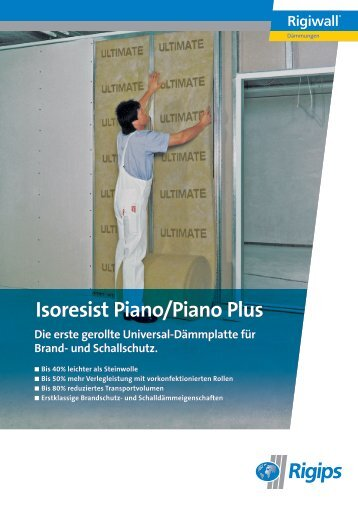 Isoresist Piano/Piano Plus - Rigips