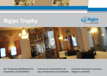 Rigips Trophy - Booklet
