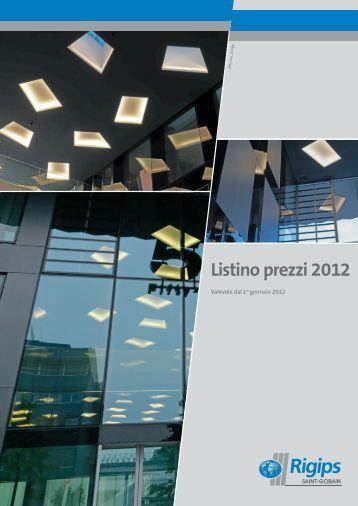 Listino prezzi 2012 - Rigips