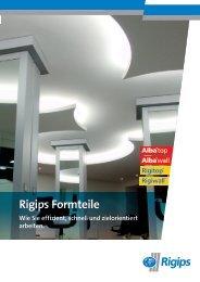 Rigips Formteile Wie Sie effizient, schnell und zielorientiert arbeiten.
