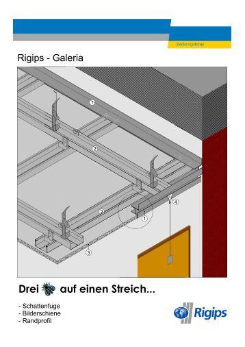 a decken plafonds abh ngungen suspensions rigips. Black Bedroom Furniture Sets. Home Design Ideas
