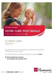 Cure post-natale à Biarritz - Novalis Taitbout