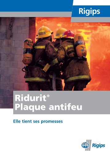 Ridurit-Brosch re_fr_03/05 - Rigips