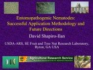 Production Technology for Entomopathogenic Nematodes ... - IOBC
