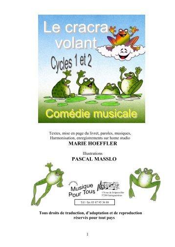 MARIE HOEFFLER PASCAL MASSLO - Musique pour tous