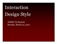 Interaction Design Style - Graphpaper