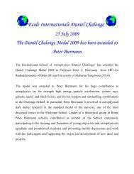 Chalonge Medal - Chalonge School - Observatoire de Paris