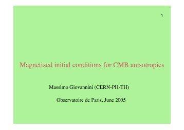 Massimo GIOVANNINI (.pdf) - Observatoire de Paris