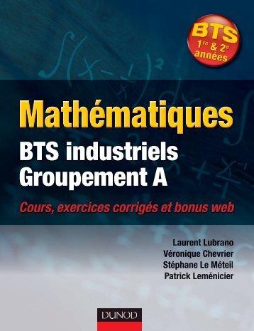 BTS industriels Groupement A - Dunod