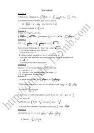 Fonction Logarithme Népérien - dmaths