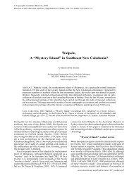 Walpole, a Mystery Island in southeast New Caledonia? - Australian ...