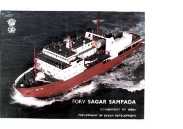 Fishery And Oceanographic Research Vessel SAGAR SAMPADA