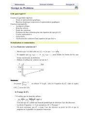 I) De quoi s'agit-il ? Fonction Logarithme népérien : - Etude et ...