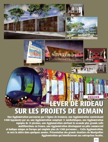 LEVER dE RIdEAU SUR LES PROjETS dE dEMAIN - Montpellier ...