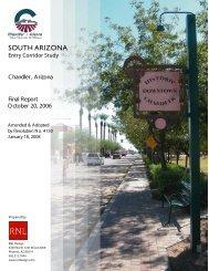 South Arizona Avenue Corridor Area Plan - City of Chandler