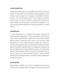 L'ARTRITE REUMATOIDE L'Artrite Reumatoide - FedOA