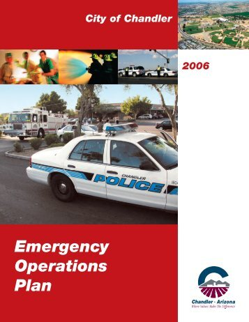 Emergency Operations Plan - City of Chandler