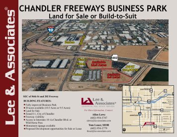 Ryan Chandler Freeways Business Park - City of Chandler