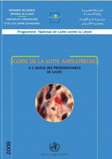 Guide ANTI-LEPREUSE - Ministère de la santé