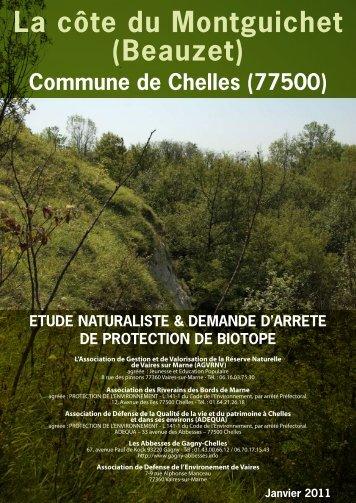 La côte du Montguichet (Beauzet) - Les Abbesses de Gagny-Chelles