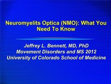 Jeffrey L. Bennett, MD, PhD - University of Colorado Denver