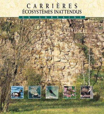 écosystèmes inattendus en Lorraine (pdf - 5046 Ko) - Charte UNICEM