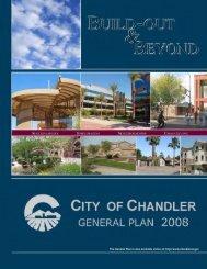CITY OF CHANDLER GENERAL PLAN