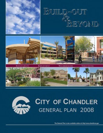 CITY OF CHANDLER GENERAL PLAN