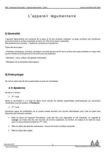 TITRE COURS - Faculté de médecine de Montpellier