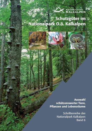 Schutzgüter im Nationalpark O.ö. Kalkalpen - Nationalpark Kalkalpen