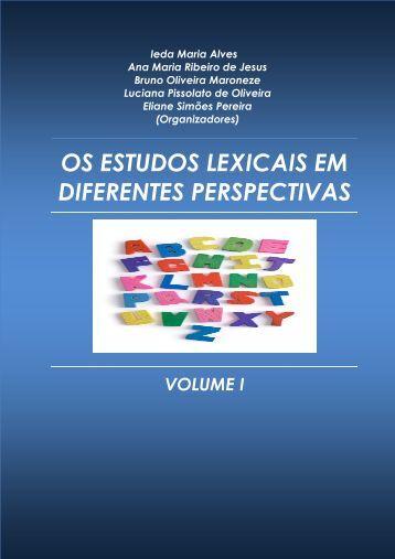 os estudos lexicais em diferentes perspectivas - fflch - USP