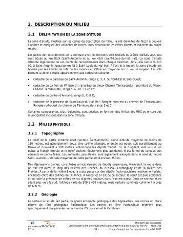 Partie 2 - BAPE - Gouvernement du Québec