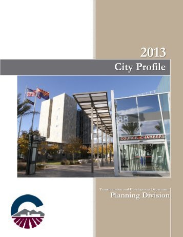 City of Chandler City Profile 2013