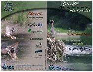 Guide d'intervention en milieu riverain - Corporation de l ...
