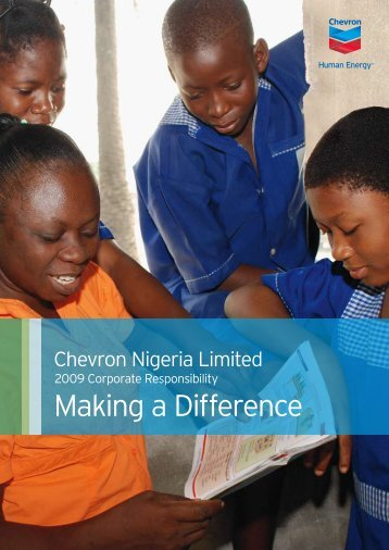 Making a Difference - Chevron