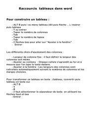 cours 7 Raccourcis tableaux dans word.pdf - Nouvelle page 1