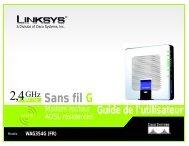 Sans fil G WAG354G (FR) - Nouvelle page 1