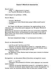cours 4 word et raccourcis.pdf - Nouvelle page 1