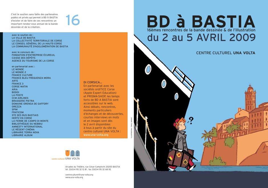 Le festival BD à Bastia reporté en septembre 2021