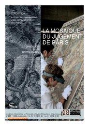 la mosaïque du jugement de pâris - Musée départemental Arles ...