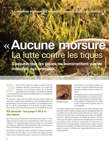 Download Article - Bayer Parasite Solutions