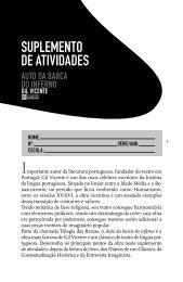 SUPLEMENTO DE ATIVIDADES - Editora Saraiva