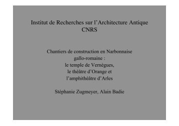 Badie Zugmeyer.ppt [Lecture seule]