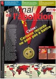 Chine: Certains records ne sont pas à battre - Ensemble contre la ...