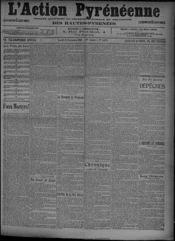 15 Novembre 1909 - Bibliothèque de Toulouse