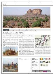 Paysages du Mali - Terre d'Afrique