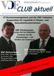 VDF Club aktuell Nr.21, 17.07.08 - Hier entsteht eine neue ...