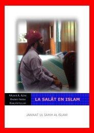 La Salat en Islam - Jamaat Ul Sahih Al Islam Official Website