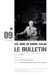 bulletin 09 / 2eme trimestre 2006 - Association des amis de Raoul ...